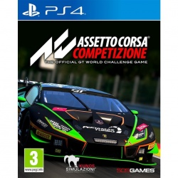 Assetto Corsa Competizione : the official GT World challenge game : PS4